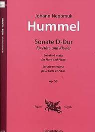 SONATA in D major Op.50