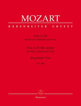 TRIO in Eb major K498 'Kegelstatt-Trio'