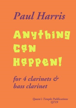 ANYTHING CAN HAPPEN (score & parts)