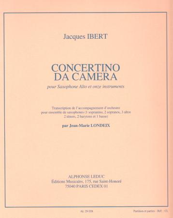 CONCERTINO DA CAMERA (score & parts)