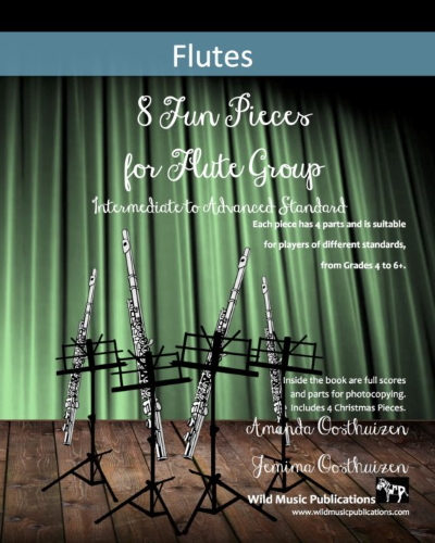 8 FUN PIECES FOR FLUTE GROUP