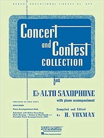 CONCERT AND CONTEST COLLECTION solo part + CD
