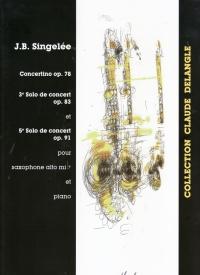 CONCERTINO Op.78, 3rd SOLO DE CONCERT Op.83 & 5th SOLO DE CONCERT Op.91
