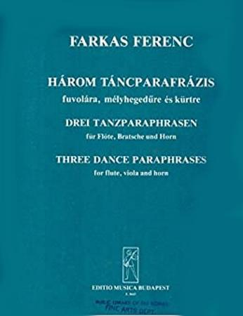 THREE DANCE PARAPHRASES