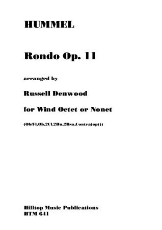 RONDO Op.11 (score & parts)