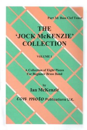 THE JOCK MCKENZIE COLLECTION Volume 1 BRASS BAND Part 3d Bass Clef Tenor