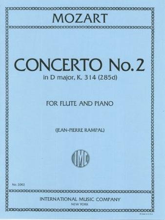 CONCERTO No.2 in D K314