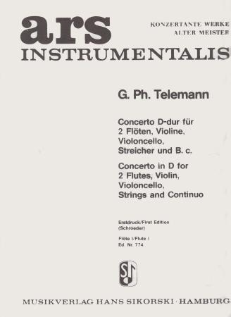 CONCERTO in D solo flute 1
