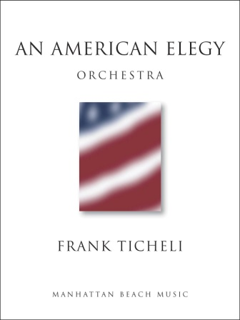 AN AMERICAN ELEGY (score & parts)