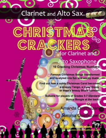 CHRISTMAS CRACKERS for Clarinet & Alto Saxophone
