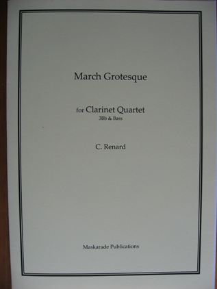 MARCH GROTESQUE