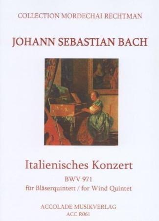 ITALIAN CONCERTO BWV 971 score & parts