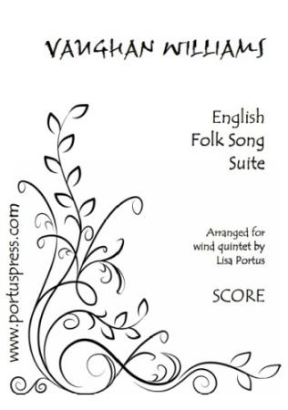 ENGLISH FOLK SONG SUITE (score & parts)