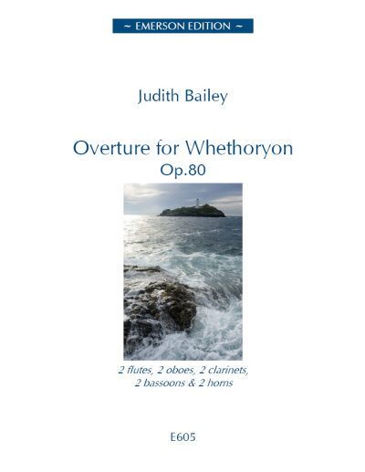 OVERTURE FOR WHETHORYON Op.80 score & parts