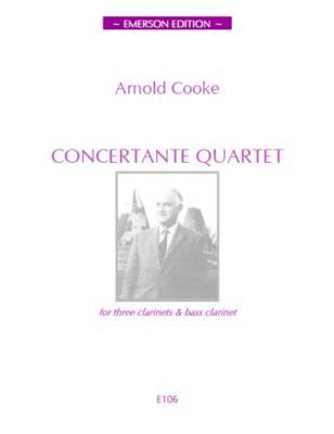 CONCERTANTE QUARTET (score & parts)