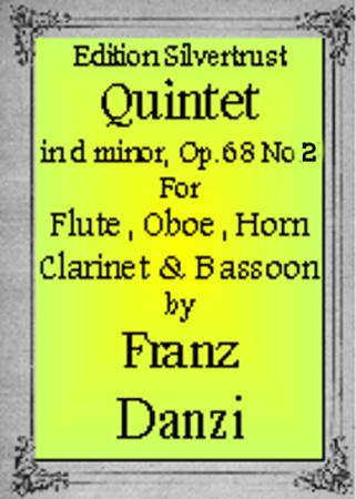 QUINTET in F major, Op.68 No.2 (set of parts)