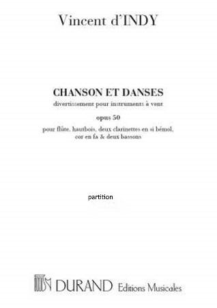CHANSONS ET DANSES Op.50 Score