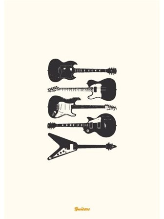 GREETING CARD Guitars