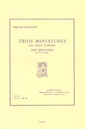 TROIS MINIATURES