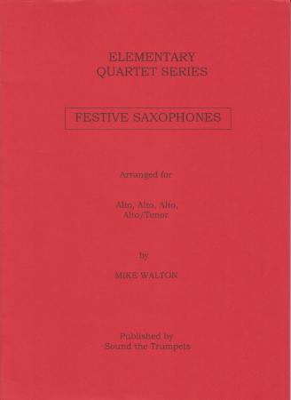 FESTIVE SAXOPHONES (score & parts)