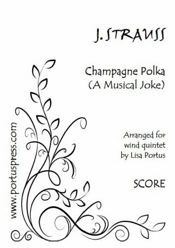 CHAMPAGNE POLKA (score & parts)