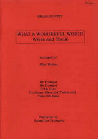 WHAT A WONDERFUL WORLD score & parts