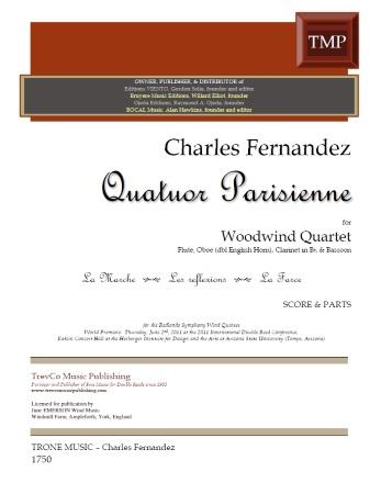 QUATUOR PARISIENNE (score & parts)
