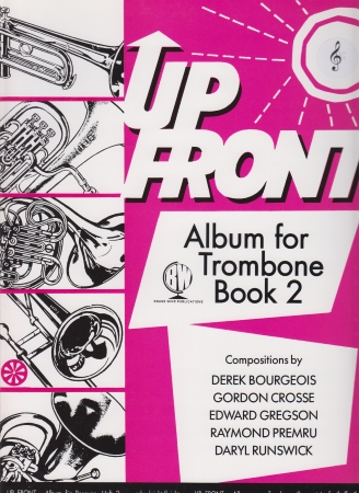 UP FRONT ALBUM TROMBONE Book 2 treble clef
