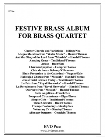 FESTIVE BRASS ALBUM (score & parts)