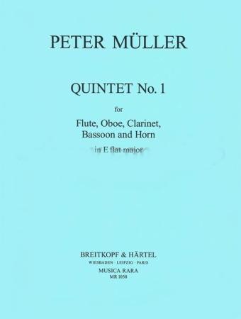 QUINTET No.1 in Eb major (set of parts)