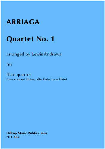 QUARTET No.1 (score & parts)