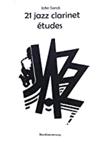 21 JAZZ CLARINET ETUDES