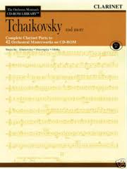 THE ORCHESTRA MUSICIAN'S CD-ROM LIBRARY Volume 4: Tchaikovsky