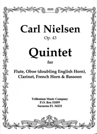 QUINTET Op.43 score