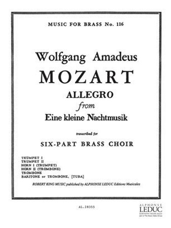 ALLEGRO from 'Eine Kleine Nachtmusik'