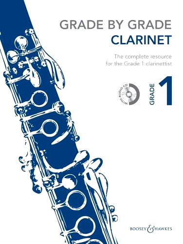 GRADE BY GRADE Clarinet Grade 1 + CD