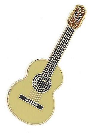 MINI PIN Classical Guitar (Cedar)