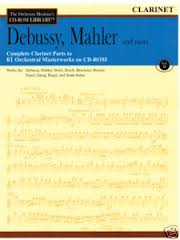 THE ORCHESTRA MUSICIAN'S CDROM LIBRARY Volume 2 Debussy, Mahler and more