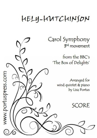 CAROL SYMPHONY 3rd Movement (score & parts)
