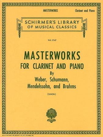 MASTERWORKS FOR THE CLARINET