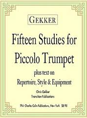 15 STUDIES for Piccolo Trumpet