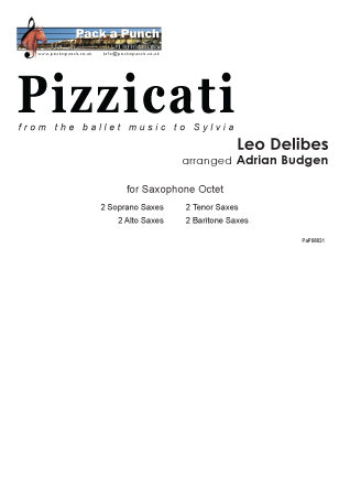 PIZZICATI (score & parts)