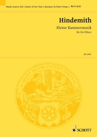 KLEINEKAMMERMUSIK Op.24 No.2 (study score)