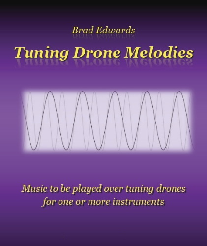 TUNING DRONE MELODIES (treble clef)