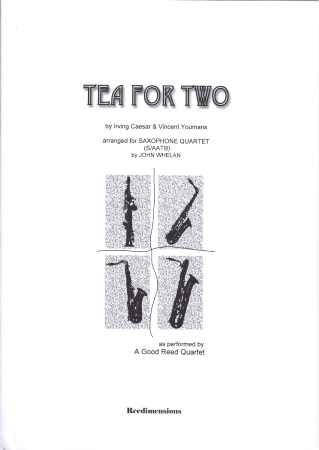 TEA FOR TWO (score & parts)
