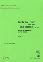 DUETS FOR FLUTE AND CLARINET Volume 2