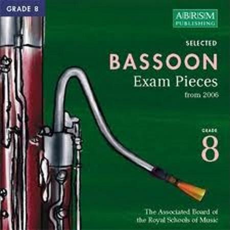 BASSOON Grade 8 2CDs 2006+
