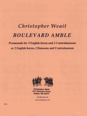 BOULEVARD AMBLE