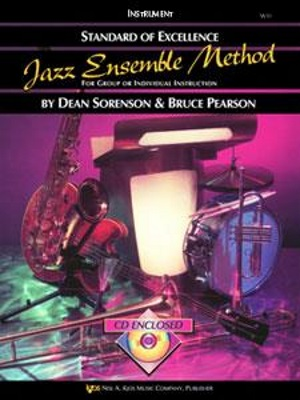 STANDARD OF EXCELLENCE Jazz Ensemble Method + CD Drums