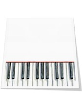 SLANT PAD Piano Keys